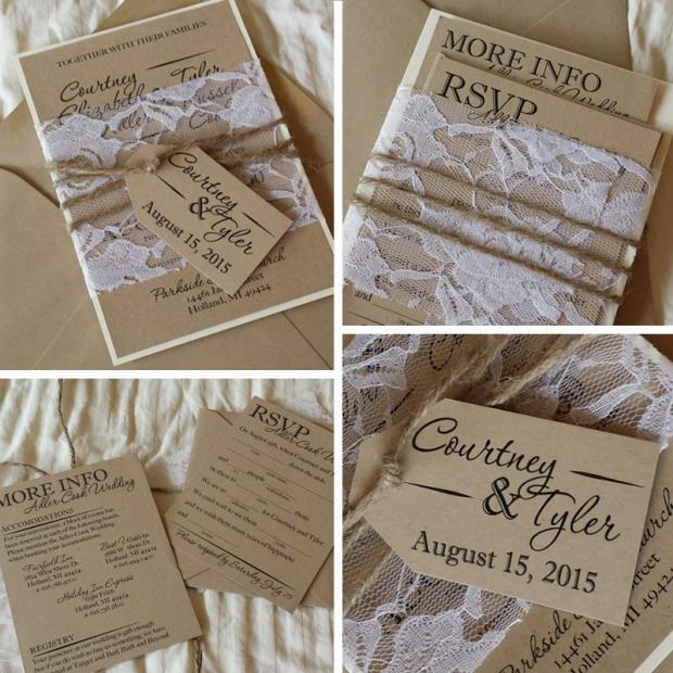 adler cook wedding invitations design by sarah